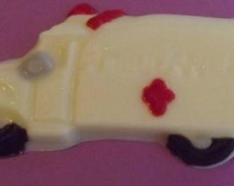 Ambulance Chocolate Candy Lollipop