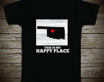 NW Oklahoma - My Happy Place Tee
