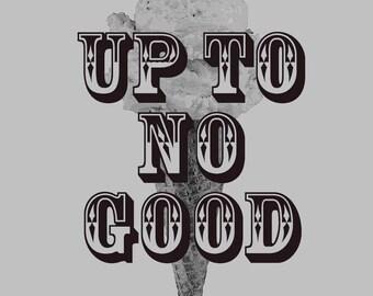 "Wayward Pines ""Up To No Good"" Ice Cream T-Shirt"