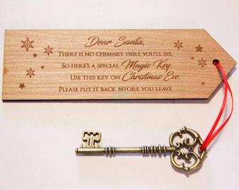 Santa's Magic Key, Santa's Key, Santa Key, Magic Key, Father Christmas key