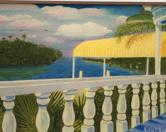 Porch In Paradise