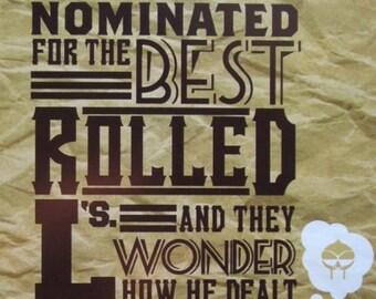 Mf Doom Best Rolled L's Digital Art Print