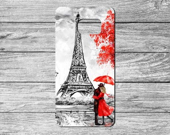 Paris Lovers TPU Case For Samsung Galaxy S6, S7, S8 (S6310)
