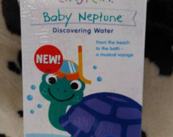 New Sealed Walt Disney Baby Einstein Baby Neptune Discovering Water From the Beach to the Bath Musical Voyage Vhs (bb1)