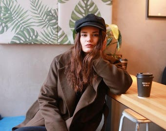 Essential Olive coat