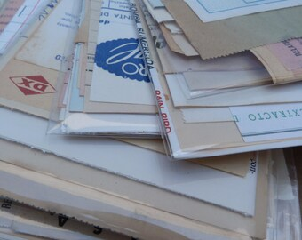 SALE 20 sheets of USED and NOT Vintage Spanish Ephemera Paper Pack