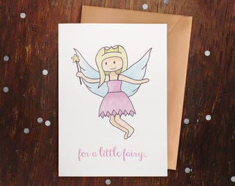 Little Fairy Greeting Card