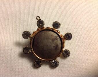 Vintage pin back