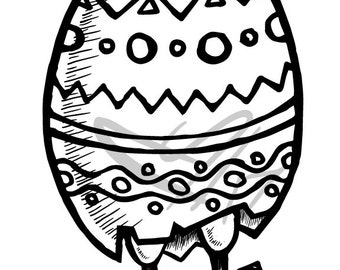 Digistamp - Easter Chick