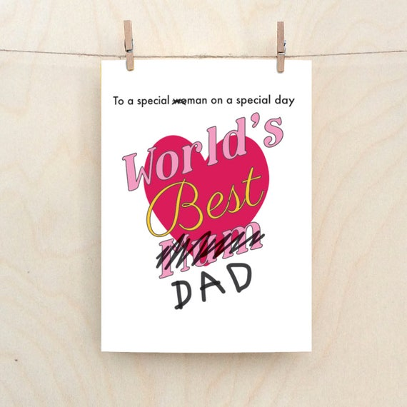 Fathers Day, Funny Dad, Dad Birthday card, funny card