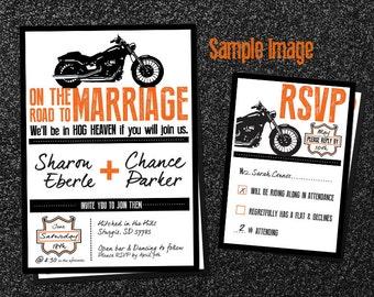 Biker wedding   Etsy