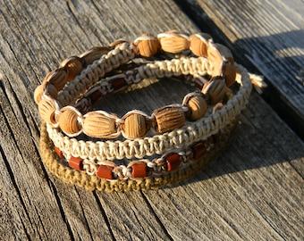 Hemp Wrap Bracelet