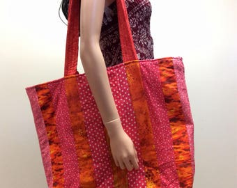 Colors full Big tote bag,big beach bag,colors full bag,summer bag,diaper bag,overnight bag,colors full tote bag,colors full shoulder bag
