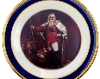 "King Chewbacca III Portrait Plate 10.75"""