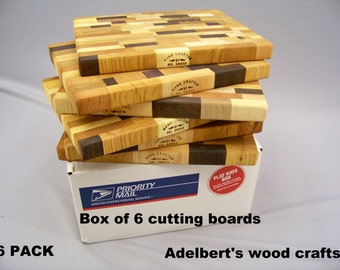 Cutting Boards. Dealer Special Box Of  6 Boards. Shipped by priority mail 2 to 3 days delivery.