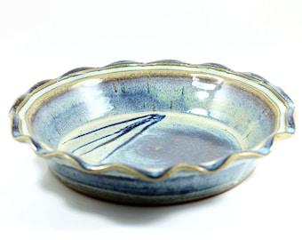 Handmade Pottery | Large Pie Plate  sc 1 st  Etsy & Ceramic pie dish | Etsy