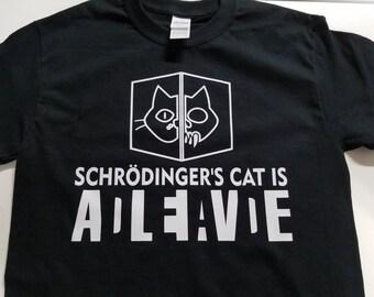 Schrodingers Cat T Shirt