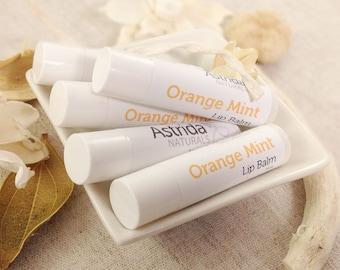 Orange Mint Shea Oil Lip Balm