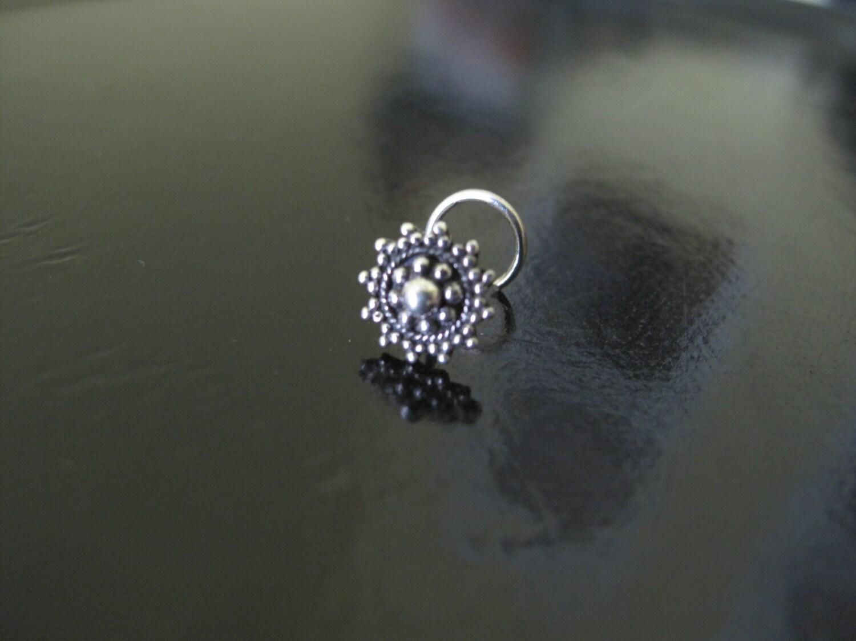 Silver Nose RingNose pin Nose Ring Indian Nose RingGypsy