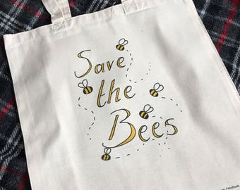 Save the Bees bag