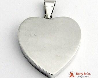 SaLe! sALe! Heart Shape Pendant Sterling Silver
