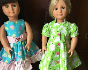 Easter Doll Dresses