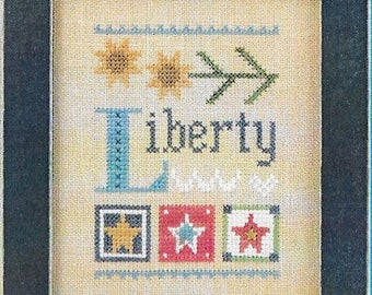 Lizzie Kate Celebrate with Charm Flip-It Series - Liberty F167 Counted Cross Stitch Pattern