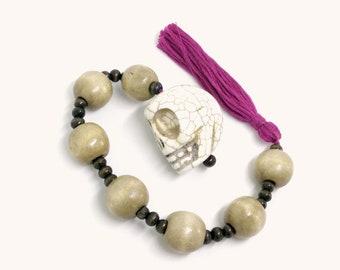 Lutheran Prayer Beads — Paternoster Chemnitz-style (Skull)