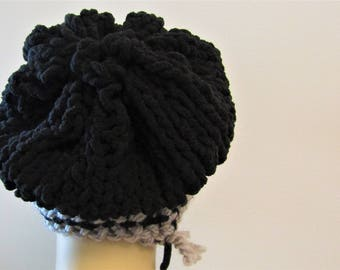 Large Slouch with Half Bow