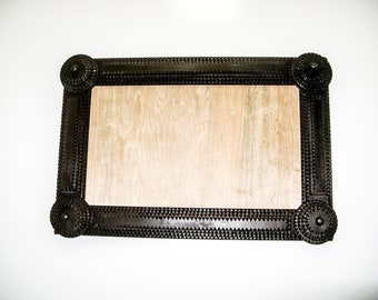TRAMP ART FRAME- I Custom Make Tramp Art Frames, Folk Art Frames, Picture Frames, Photo Frames, Handmade To Order, To Fit Your Art or Mirror
