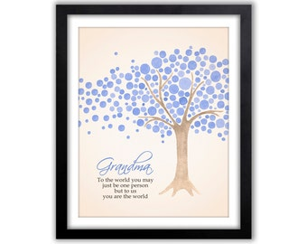 Grandparents Day - Gift for Grandparents - Grandparent Print - Gifts for Grandpa - Gift for Grandma - Gifts from Grandkids - Wall Art Print