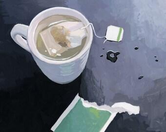 """8x10"""" print - still life - """"Tea"""""""
