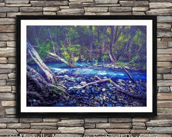 The Feeling Of Blue, limited edition, archive quality, photographic print, by Michelle Andrews
