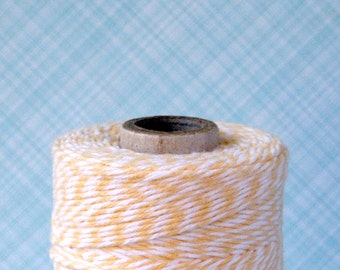 Buttercream Pale Yellow Baker's Twine (240 yards)