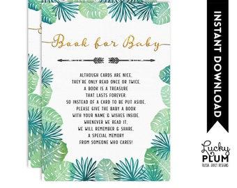 Safari Book for Baby / Safari Bring A Book / Safari Baby Library / Safari Book Insert / Jungle Elephant Giraffe Lion Monkey SF01 SF04