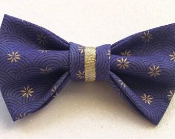 Gold Sparkle Pet Bow Tie