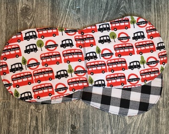 London Bus Burp Cloth