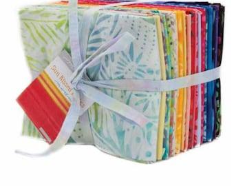 Sun Kissed Batiks by Moda Fat Quarter Bundle 32 FQ