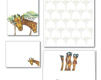 Giraffe Complete Set (Jungle)
