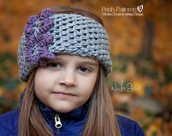 Crochet PATTERN - Crochet Headband Pattern - Crochet Cowl Pattern - Crochet Scarf Pattern - Crochet Patterns for Wormen - 3 Sizes - PDF 395