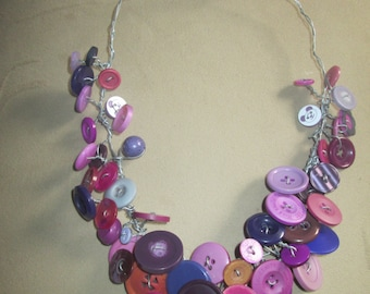 Button Delight Necklace