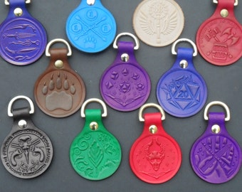 Critical Role D&D Keyrings and Patches