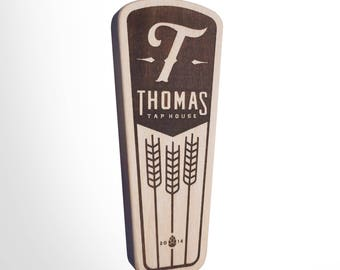 Engraved Custom Beer Tap Handle - Bravo