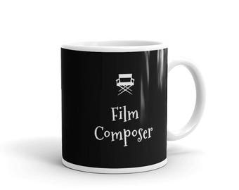 Film Composer Coffee Mug Gift for Movie Lovers and Film Buffs