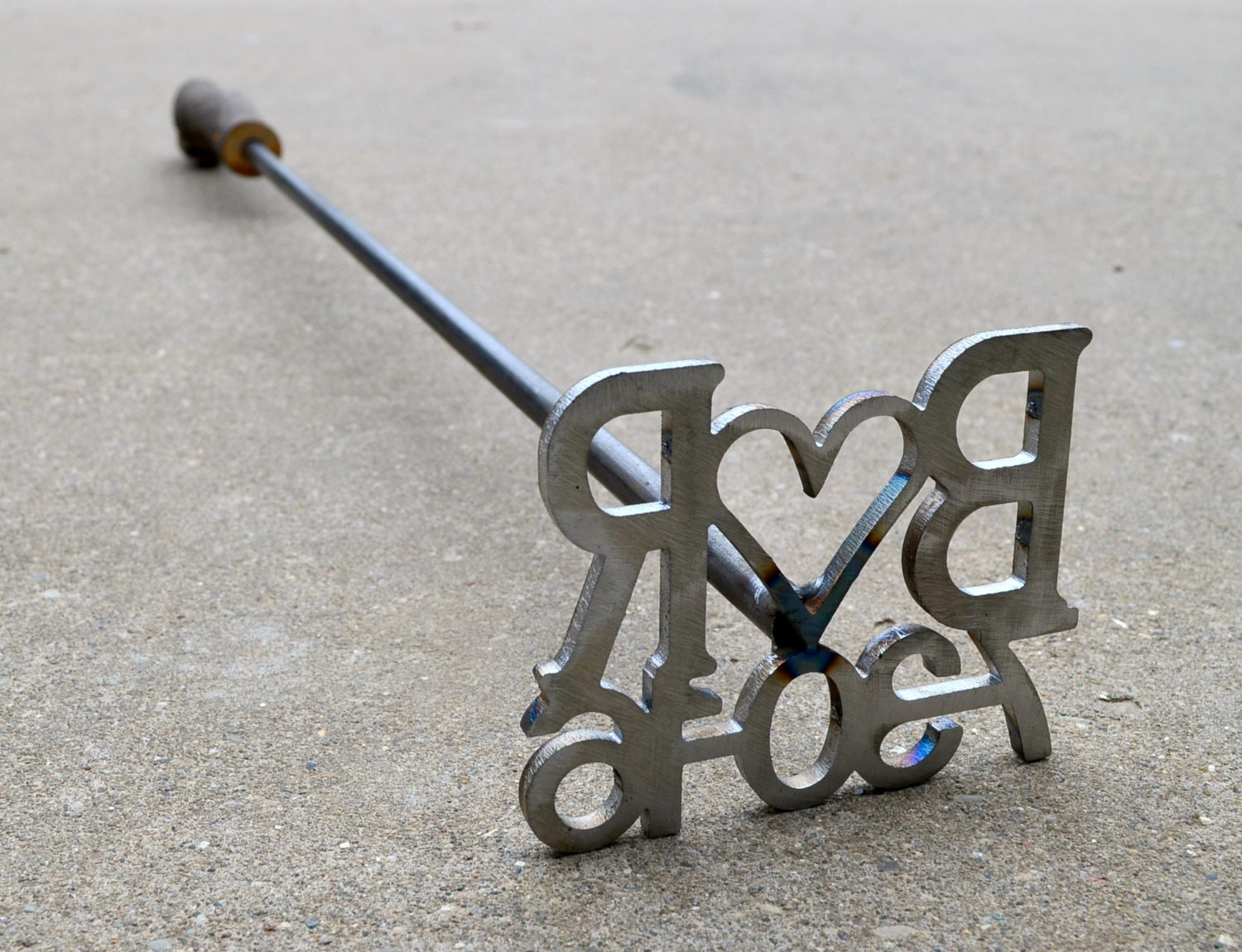 Metal Initials For Crafts Custom Branding Iron With Date And Initials Wedding Branding