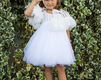 Flower girl and communion cape