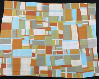 """Art Quilt, Quilt Art, Wallhanging. Motif #21. 32""""H x 42""""W. Pieced and quilted in 100% cotton, hanging sleeve."""