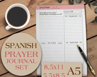 Prayer Journal, Bible Journaling, A5 Planner Inserts, Planner Inserts, Gratitude Journal, Bible Study,Christian Planner, Writing Journal