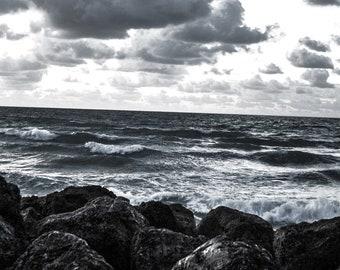 Burkett Photography - Stormy Beach