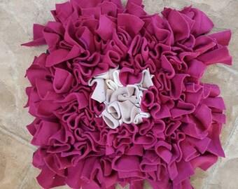 Regular Snuffle Mat - pink with dot